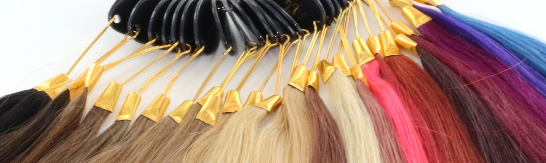 overzicht verschillende kleurnummers van hairextensions