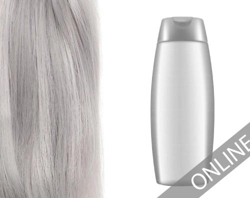 zilvershampoo op hairextensions