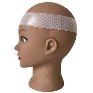 Pruiken grip haarband van siliconen